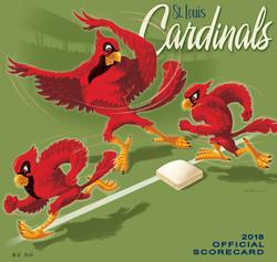 2018 Cardinals Official Scorecard