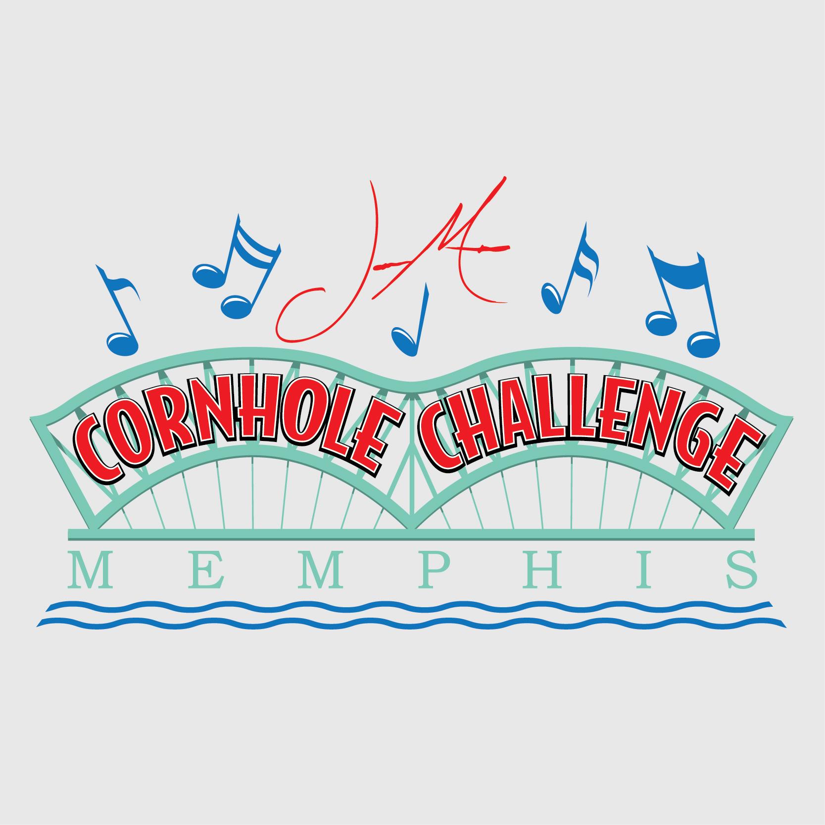 2017 Memphis Cornhole Challenge Logo