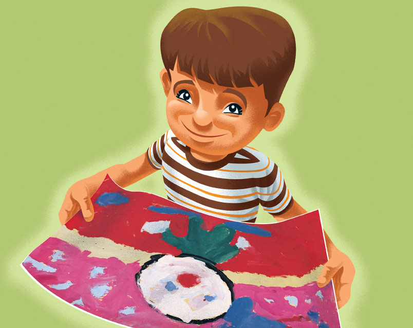 Oops Childrens Book Illustration