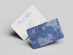 Elleard Heffern Business Card Design
