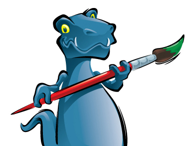 Artmart Kids T-Rex Illustration