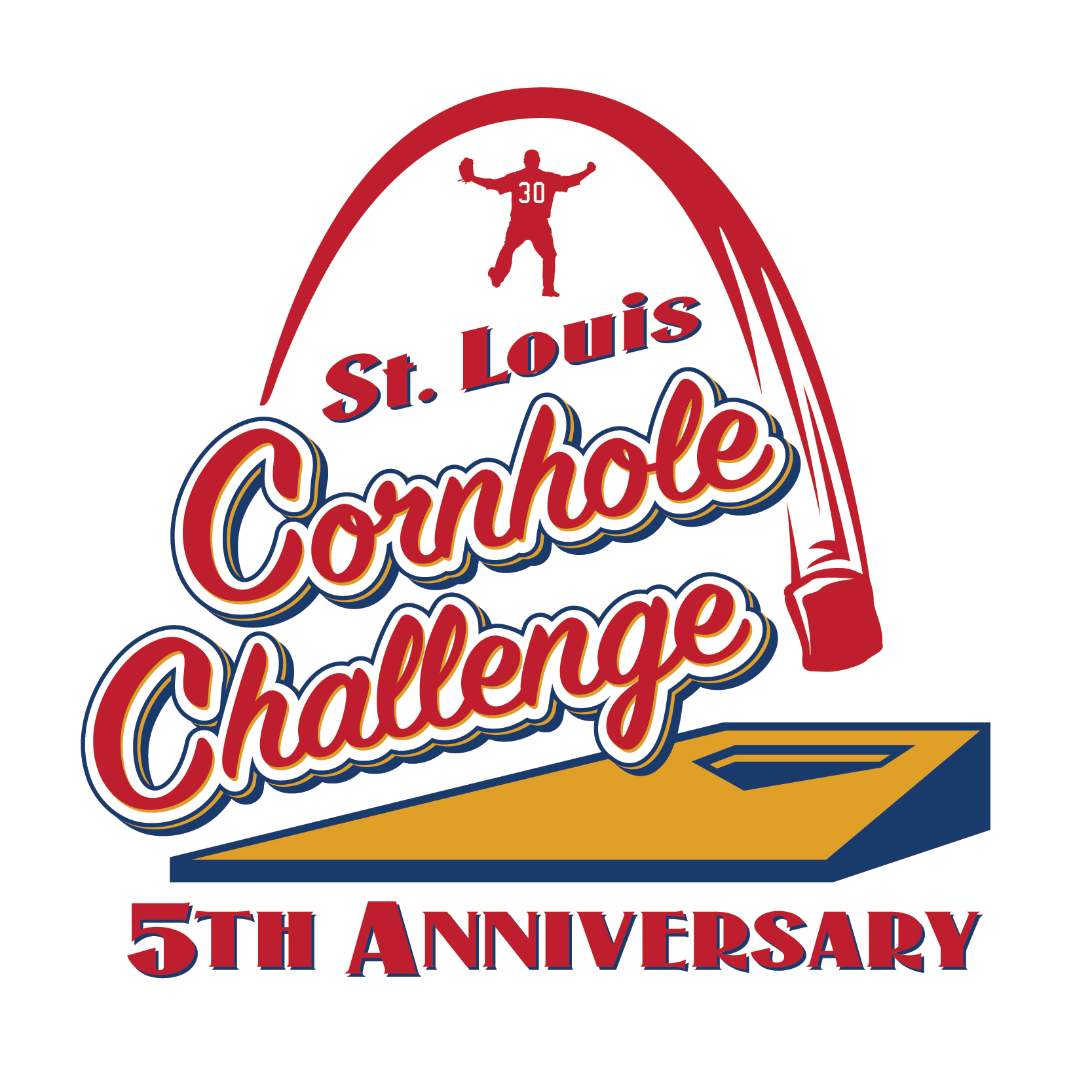2018 Cornhole Challenge Logo