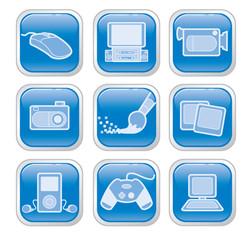 Intel Button Art
