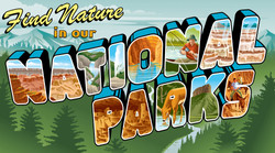 AAA Magazine National Park Art