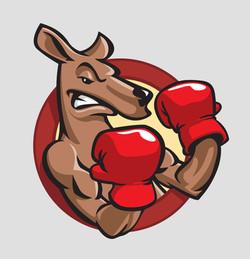 Boxing Kangaroo Icon