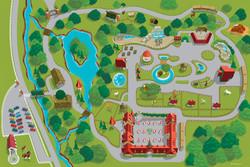 Grant's Farm Map Art