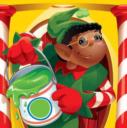 Elf Boy Illustration