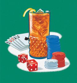 Southern Comfort Poker Art