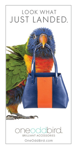 OneOddBird Look What Landed LA Times Ad-