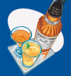 Southern Comfort Icon Art