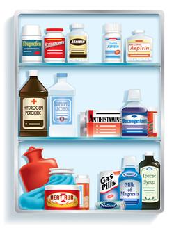Wall Street Journal Medicine Cabinet