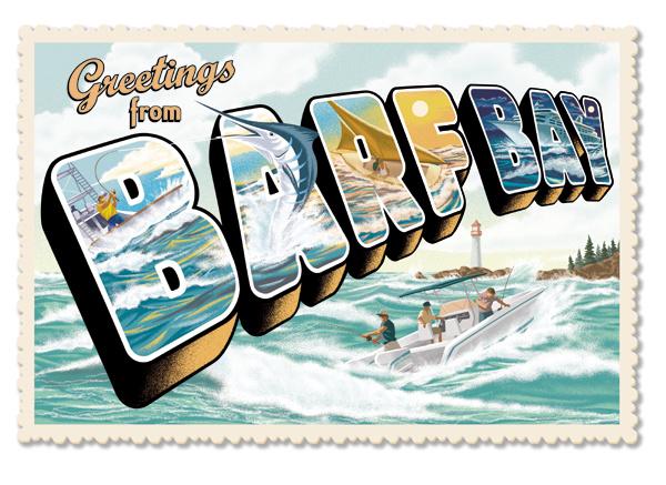 Barf Bay Ad Art