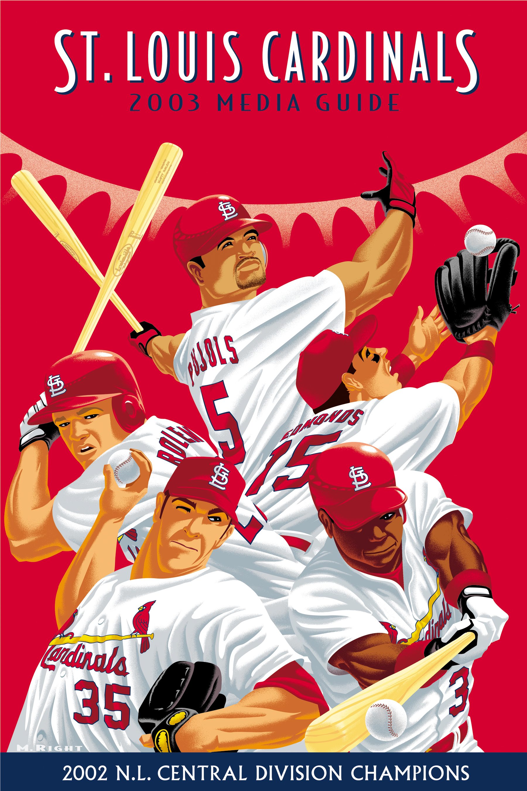 Cardinals Media Guide Cover Art