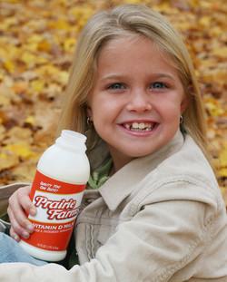 Prairie Farms Whole Milk Package Design.