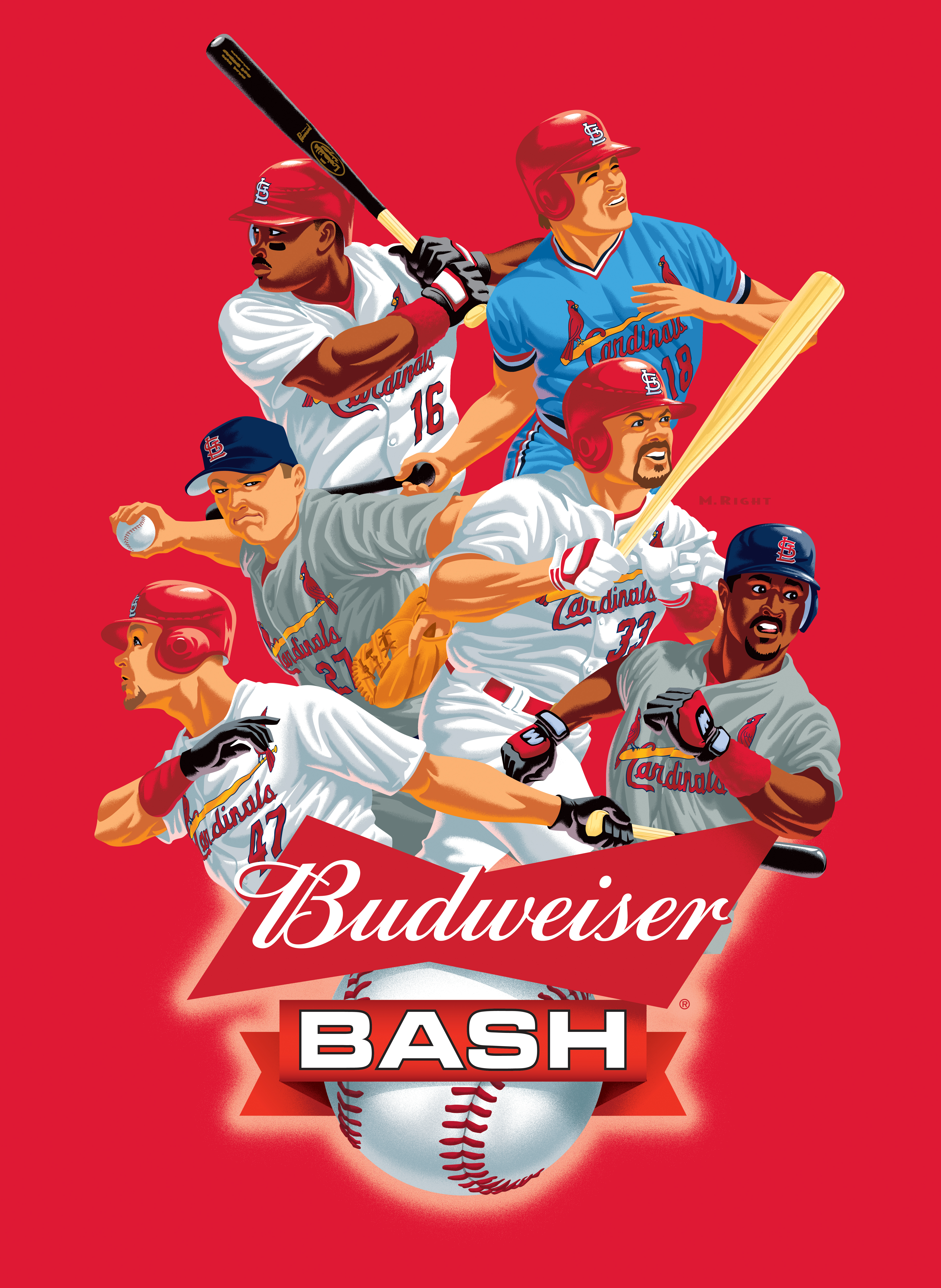 2018 Cardinal Budweiser Bash Banner