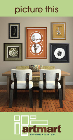 Artmart Framing Mailer Design 2