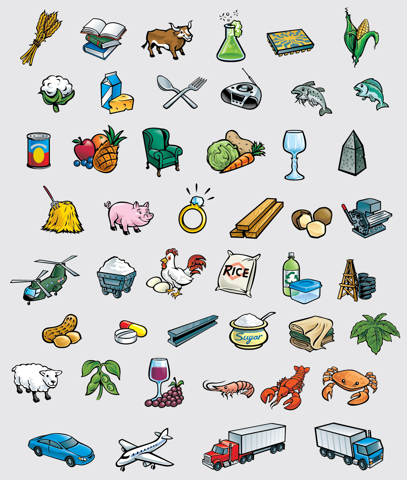 MB Game Of the States Icons