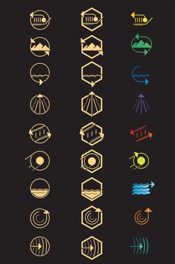 Purina Incredible Dog Challenge Icons