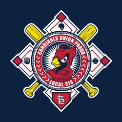Cardinals Union Night Theme Art