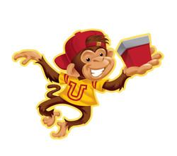 Gift Pack Monkey Icon Art