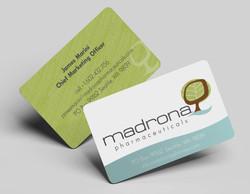 Madrona Business Card Design
