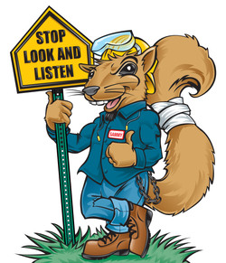 Coors Brewery Safety Squirrel
