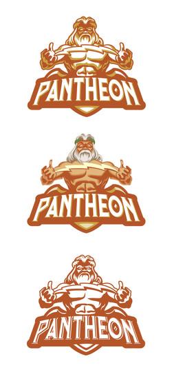 Busch Gardens Pantheon Logo Options