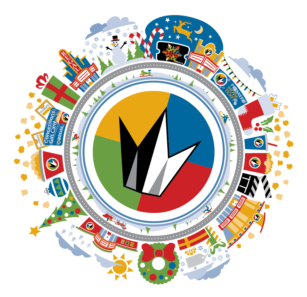 Regal Holiday Spinner Icon