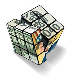 Wall Street Journal Tax Rubiks Cube