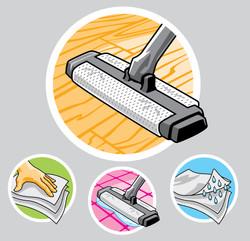 AHold Floor Cleaner Art