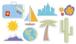 Web Travel Icons