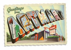 Artmart Postcard Art