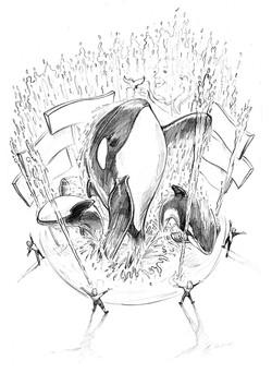 Shamu Show Pencil for Seaworld