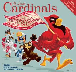 2015 Cardinals Official Scorecard