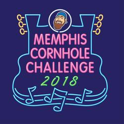 2018 Memphis Cornhole Challenge Logo