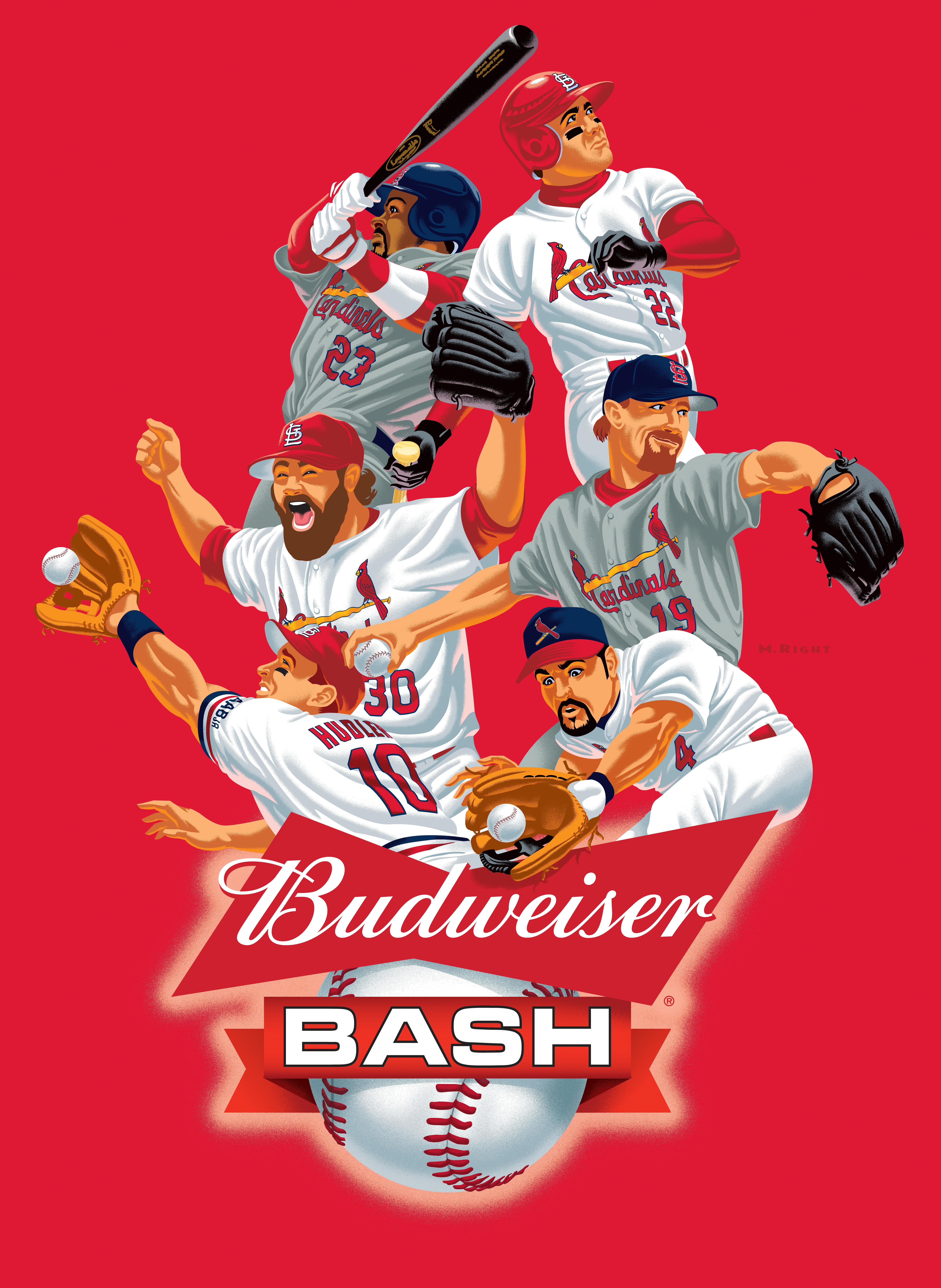 2019 Cardinal Budweiser Bash Banner