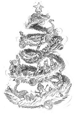 Seaworld Christmas Tree Concept