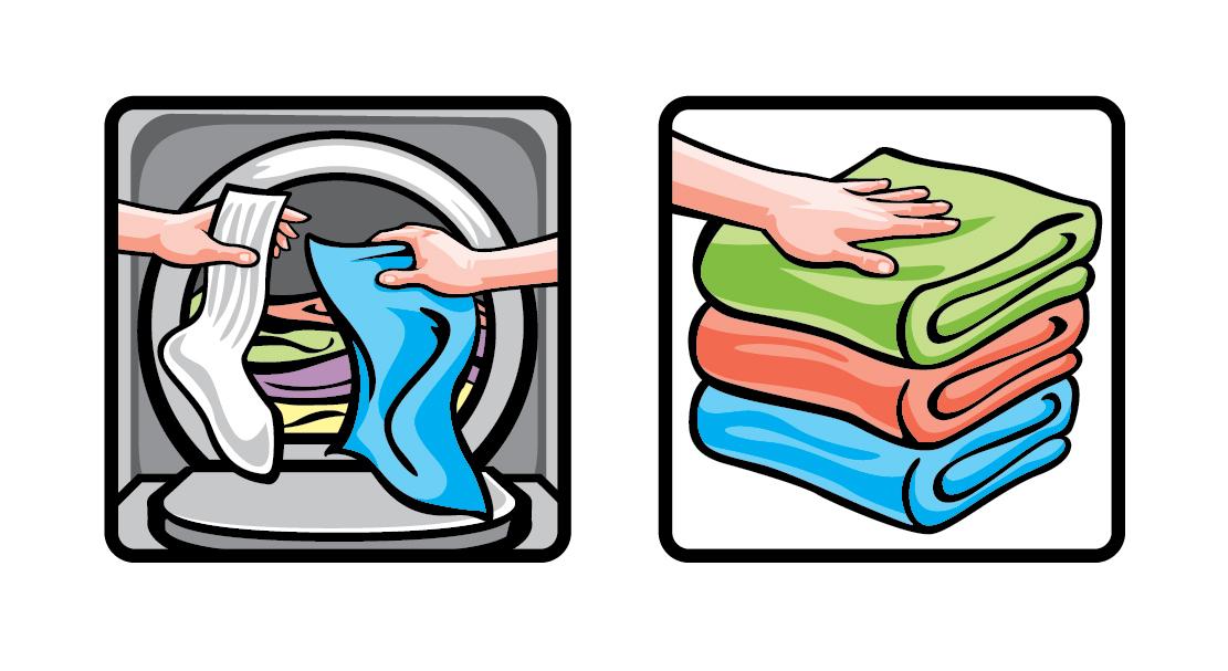 AHold Washing Icons