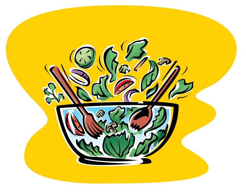 Tossed Salad Art