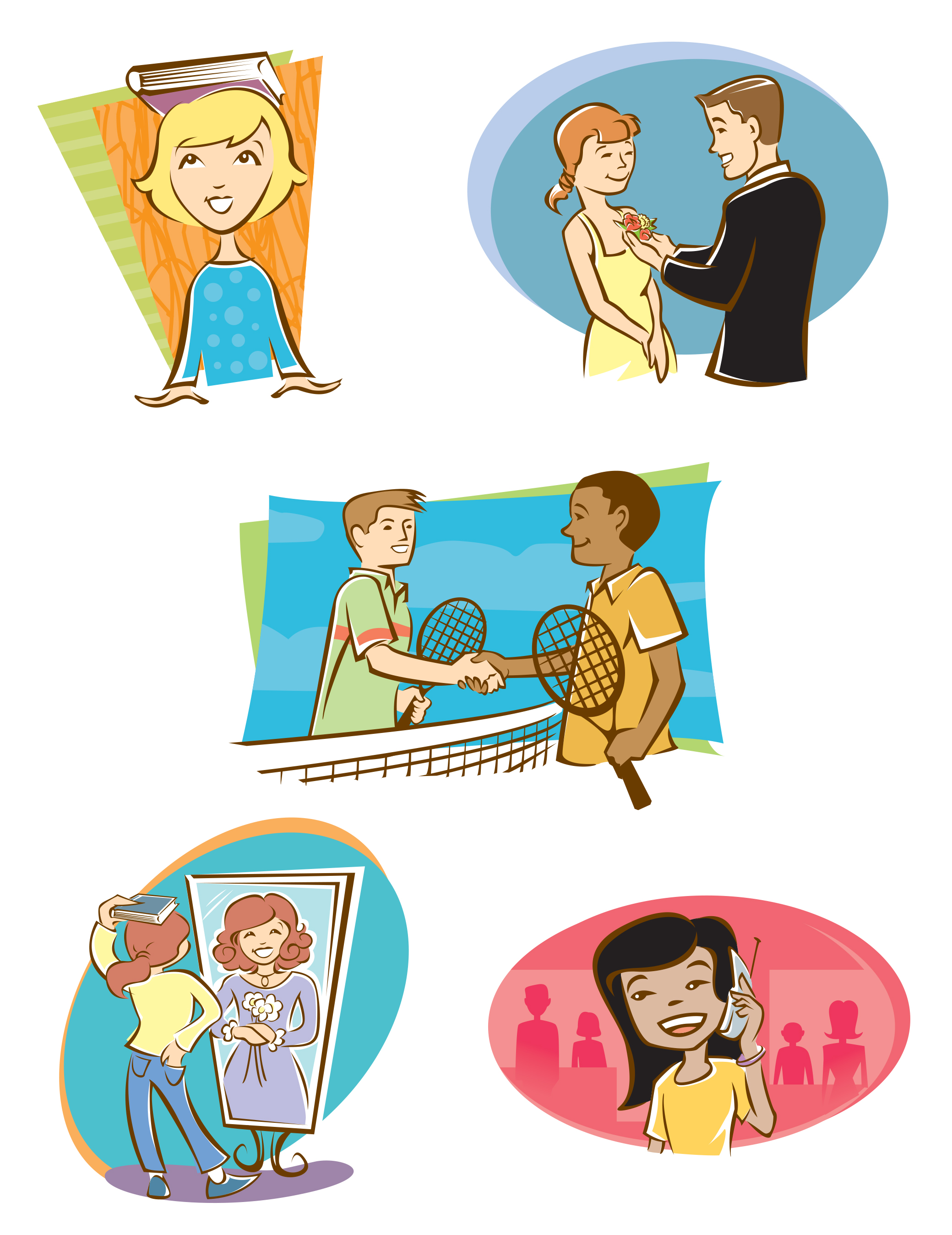 Kids Manner Book Illustrations