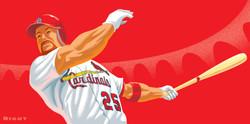 Cardinals McGwire Billboard Art