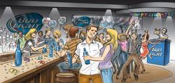 Bud Light Bar Scene