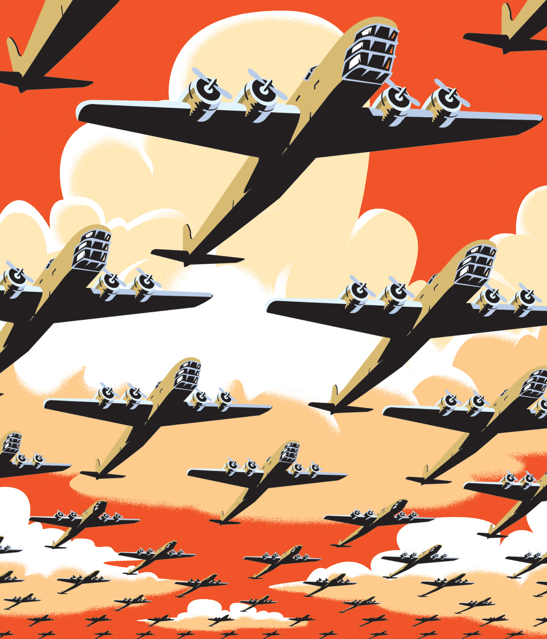 Bomber Illustration