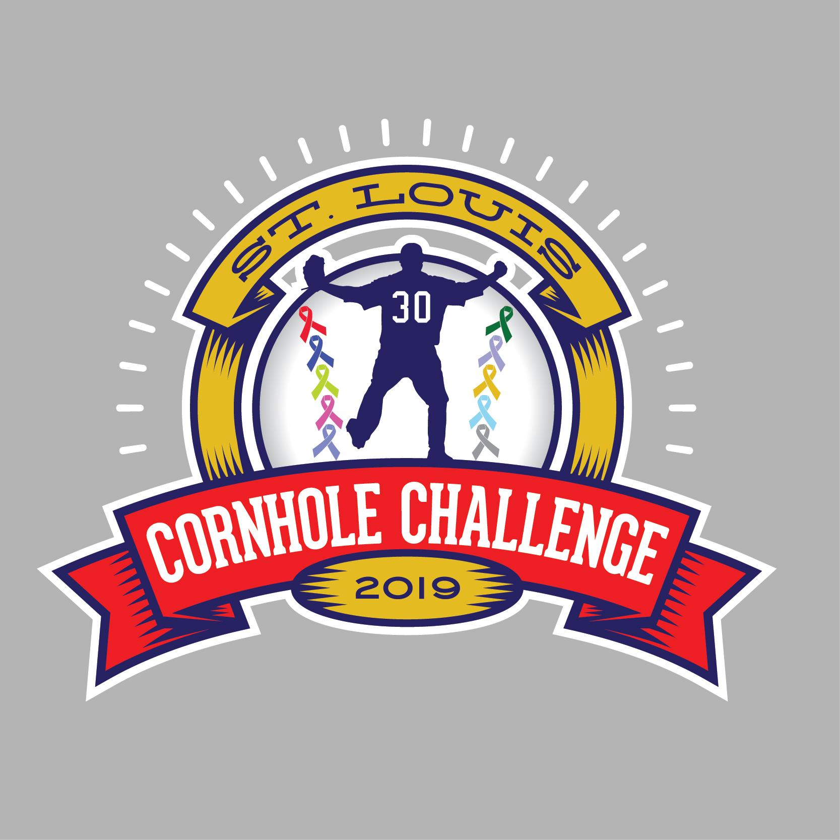 2019 Cornhole Challenge Logo