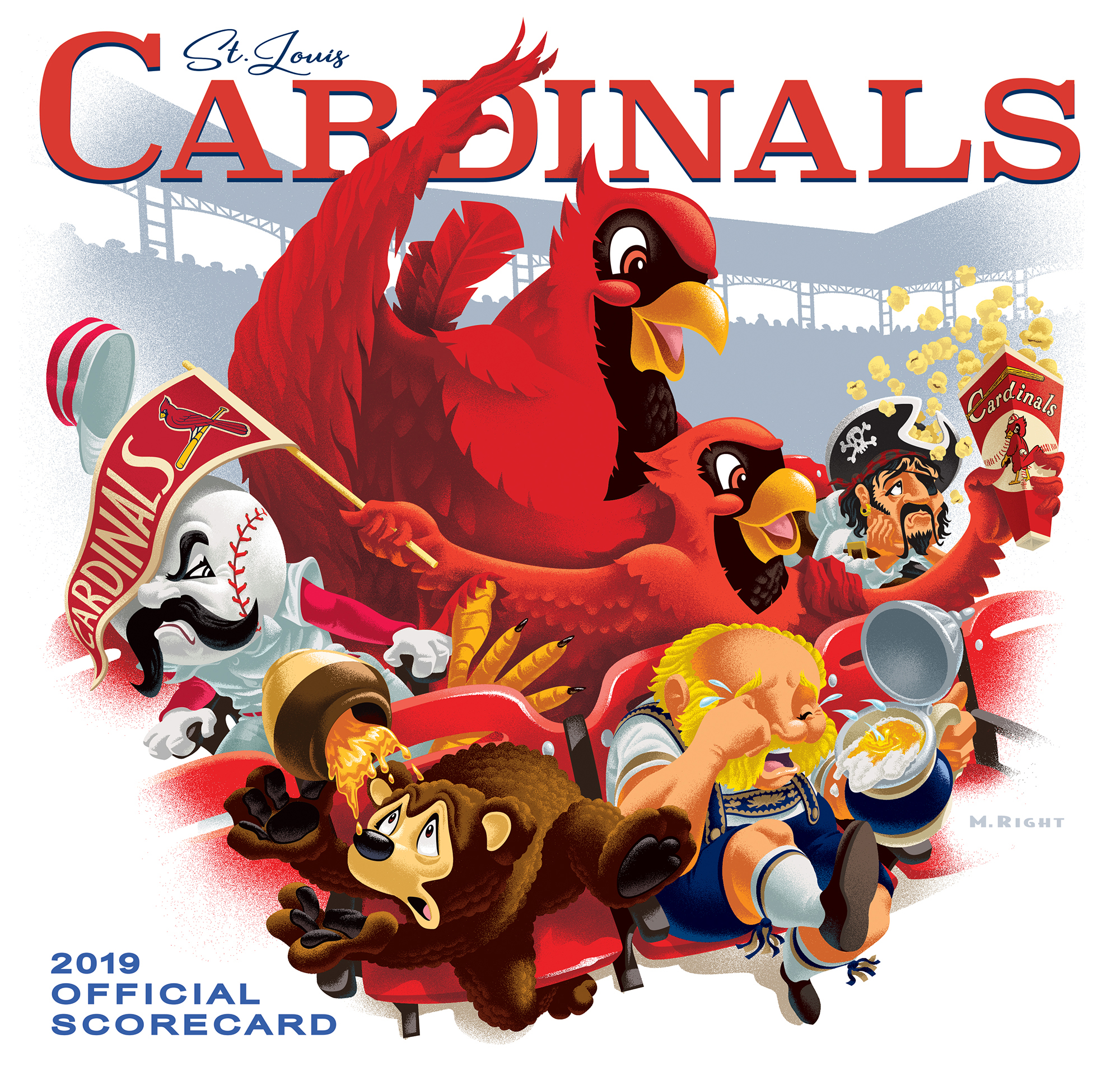2019 Cardinals Official Scorecard