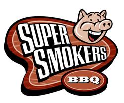 Super Smokers Logo Art