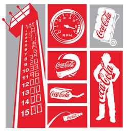 Coke Racing Icons