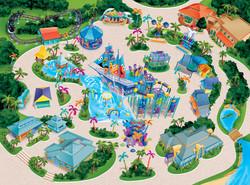 Bay Of Play Map Art