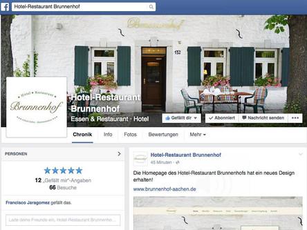 Brunnenhof jetzt auf Facebook!