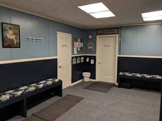 Office and restroom